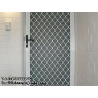 China Door security grille beige amplimesh aluminum grill mesh for France on sale