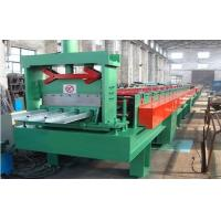 Wholesale 7.5KW 380V 50Hz Floor Deck Roll Forming Machine with PLC Control 0 - 12 m / min from china suppliers