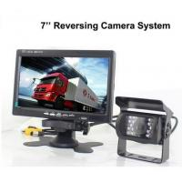 Quality Truck Reverse Camera 12V~24V DC 7 inch LCD Monitor Night Vision Backup Camera trailer rear view camera for sale