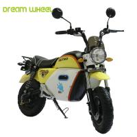 Wholesale Graphene Battery Electric Motor Scooters For Adults , 25-32km / H Speed from china suppliers