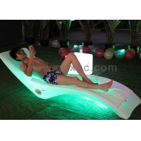 Wholesale Outdoor Using Plastic waterproof  beach pool chaise chair can make different colors from china suppliers