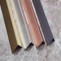 Wholesale China supplier stainless steel angle tile trim(stainless steel, grade 304, hairline finish) from china suppliers