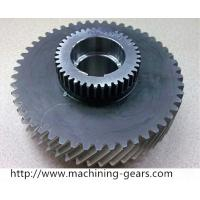 Wholesale Carbon Steel Double Gears Mining Machinery Spur Helical Gear Toothed Wheels from china suppliers