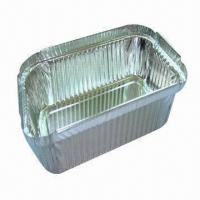 Wholesale Aluminum Foil Container, Suitable for Fast Food Utensils, 150 to 1300mm Width and 3003/8011 Grades  from china suppliers