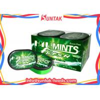 Quality Customize Sugarless Breath Mints In Oval Box , Low Calorie Candy Sugar Free for sale