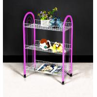 Wholesale Custom 3 - 5 Tiers Modern Pink Storage Shelves and Racks Space Saving  and Durable from china suppliers