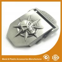 Wholesale Large Cool Mens Custom Belt Buckles GX0123 Plating , Embossing from china suppliers