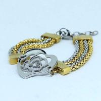 Wholesale High Quality Stainless Steel Fashion Mane's Women's Bracelet LBS153 from china suppliers