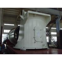 Wholesale White AISI Q345 Marine Crane Pedestal For Lifting Machinery , Marine Crane Parts from china suppliers