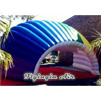 Quality 8m Fan-shaped Inflatable Semicircular Tent/Tunnel for Stage and Car for sale