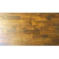 Quality Acacia Solid 3-strips, hand-scraped,distressed,UV lacquer for sale