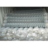 """Wholesale Zinc Coated Chain Link Fabric 0.148""""/9Ga/3.66mm 2""""x2""""/50.8mmx50.8mm  12ft x 50ft Hot dipped Galvanized 366gram/SQM from china suppliers"""