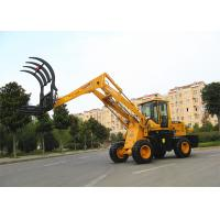Wholesale Liftingheight  5.1m straw / grass loader machine , low noise from china suppliers