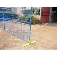 Buy cheap 6.5'*9.5' Canada temporary construction panels,Canada temporary construction fence,Canada temporary fence panels from wholesalers