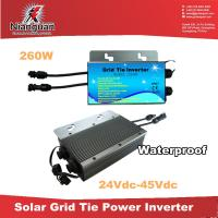 Wholesale IP65 260W grid tie inverters/solar inverters/grid micro inverters with communicaiton from china suppliers