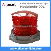 Wholesale Red Flash Solar Marine Light 3-5km 2-3NM Visibility Solar Warning Aviation Light Solar Beacon Light Solar Floating Signs from china suppliers