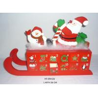 Wholesale Christmas decorations, christmas calendar, 24 cabinet, christmas gifts, sleigh decorations from china suppliers