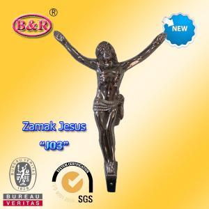 "Wholesale Cross crucifix part zamak jesus No "" J03 "" zinc alloy size: 12*17cm from china suppliers"