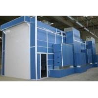 Quality custom designed industrial spray booth/powder coating line for sale