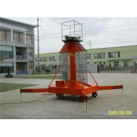 Wholesale Outdoor Steel Hydraulic Work Platform Telescopic One Man Lift Explosion Proof from china suppliers