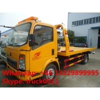 Wholesale China wrecker vehicle plarform road wrecker 4ton Sino wrecker truck, car towing service truck vehicle recovery wrecker from china suppliers