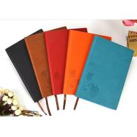 Wholesale Professional Leather Diary 80 Page Notebook Black / Brown For Business from china suppliers
