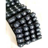 Buy cheap Silcone Molding, Rubber Switch key molding, Printing with difference color. from wholesalers