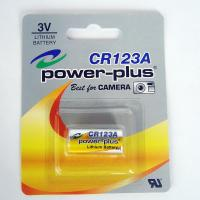 Wholesale CR123A 3.0V lithium battery, CR123A digital camera Li/MnO2 battery CR17335 from china suppliers