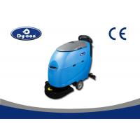 Wholesale Linatex Rubber Blade Compact Floor Scrubber Machine For Marble / Epoxy Floor from china suppliers
