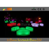 Wholesale Modern Round LED Bar Tables RGB LED Coffee Table For Outdoor / Indoor from china suppliers