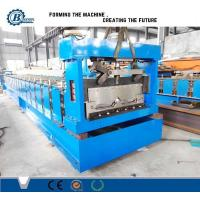 Wholesale Trizip Bemo Profile Standing Seam Roll Forming Machine / Metal Roof Roll Forming Machine from china suppliers