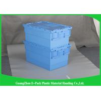 Wholesale Warehouse Plastic Storage Bins With Lids , 600 * 400 * 315mm Customized Storage Plastic Boxes from china suppliers
