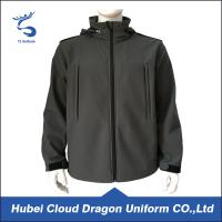 Wholesale Breathable Dark Grey Fleece Security Guard Apparel Waterproof 100% Polyester from china suppliers