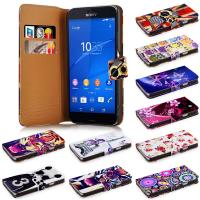 Wholesale Lightweight and Stylish Sony Phone Cases Wallet Flip For  Z3 Compact from china suppliers