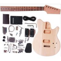 Wholesale Cutaway Bolt On Neck DIY Electric Guitar Kits / Unfinished Guitar Set AG-DV1 from china suppliers