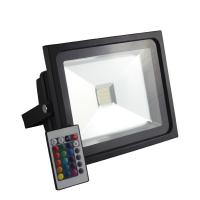 Wholesale Die-cast Aluminum IP65 20W Christmas Color Changing RGB Outdoor Led Flood Light from china suppliers