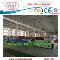 Wholesale PE And Wood Wpc Extrusion Machine 37kw Conical Double Screw Extruder from china suppliers
