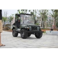 Wholesale Electric / Kick Start 200cc 2 Person Go Kart Jeep With GY6 Engine from china suppliers