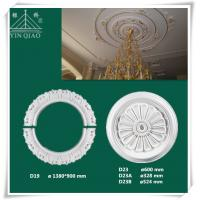 Wholesale High quality interior decorative gypsum celing rose from china suppliers