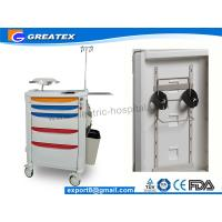 Wholesale Top Level Latest Hospital Medical Trolley Folding Medical Storage Trolley For Water Jar from china suppliers