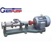 Wholesale I-1B explosion-proof stainless steel thick slurry pump / Single Screw Pump / printing pump / dyeing pump / paper pump from china suppliers