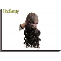 Wholesale Front Lace Wigs Virgin Human Hair Natural Wave , Customized Human Hair Wigs from china suppliers