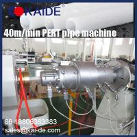 Wholesale China Weifang KAIDE High Speed 35m/min PERT pipe making machine/production line/extrusion line supplier manufacturer from china suppliers