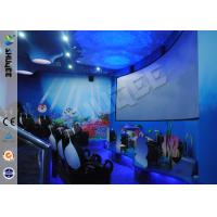 Wholesale Interactive Arc Screen 4D projector cinema simulation 4D Movie Theater 4D cinema system from china suppliers