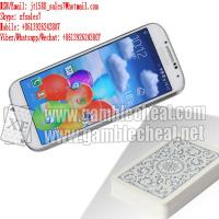 Wholesale XF white color samsung S4 mobile phone camera for poker scanner from china suppliers