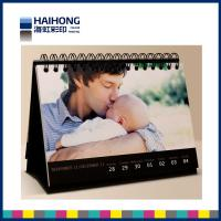 Wholesale Personalized photo desk calendar printing services with glossy , matte lamination from china suppliers