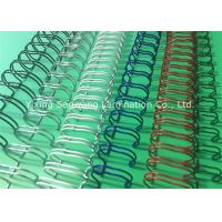 Quality Books Custom Colorful Double Loop Wire O Binding Spirals 3 1 Pitch for sale