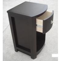 Wholesale MDF Board Bedroom Furniture Bedside Tables , Side Mounted Tall Night Stand from china suppliers
