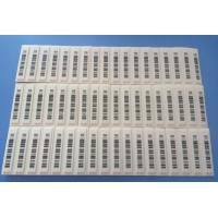 Wholesale Custom Tamper Evident Jewellery Barcode Labels Non - Reactivatable Format from china suppliers