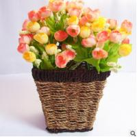 Wholesale Weved Beautiful Flower Basket from china suppliers